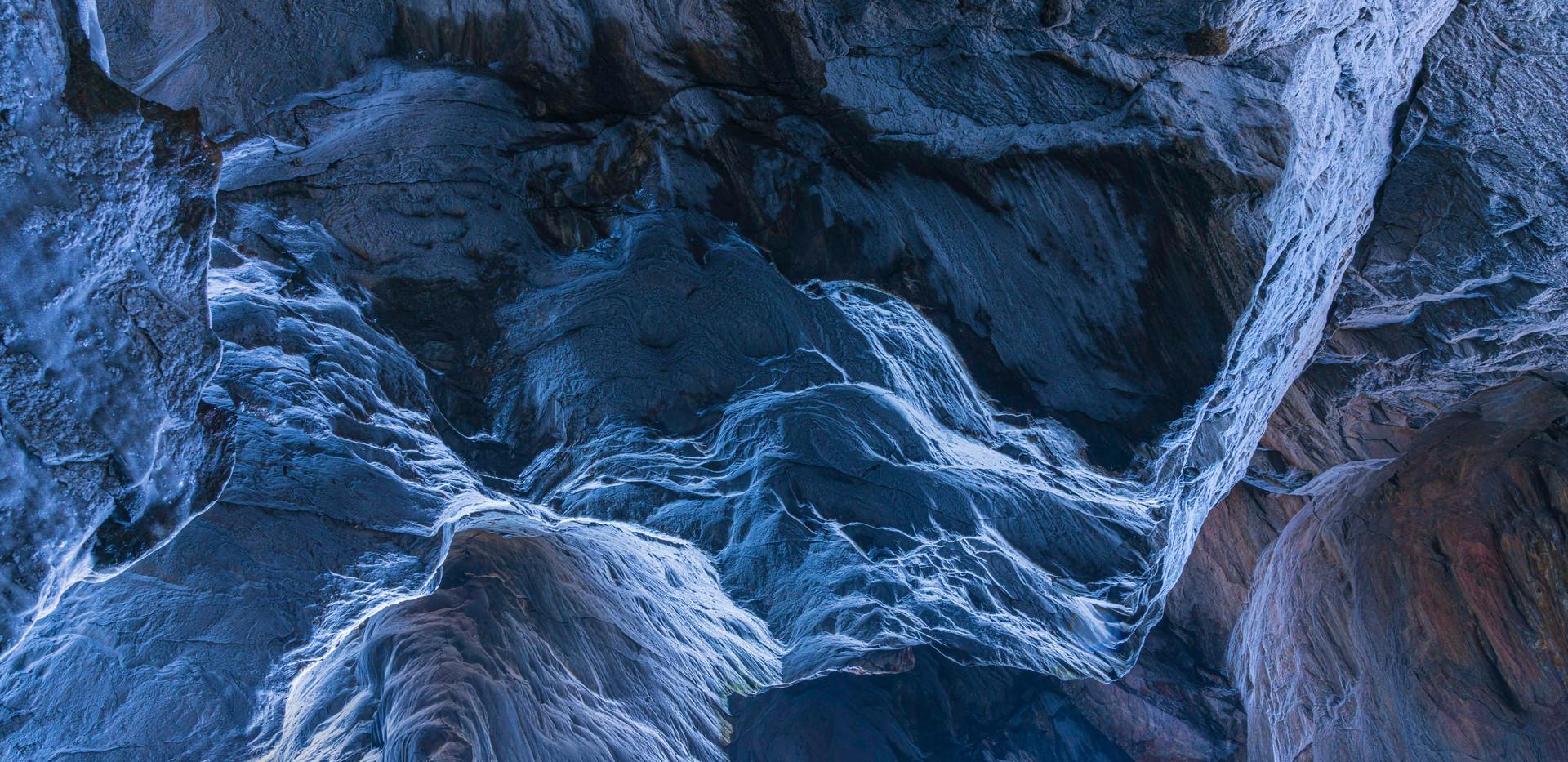 Ice Caves. Dover Stone, NY