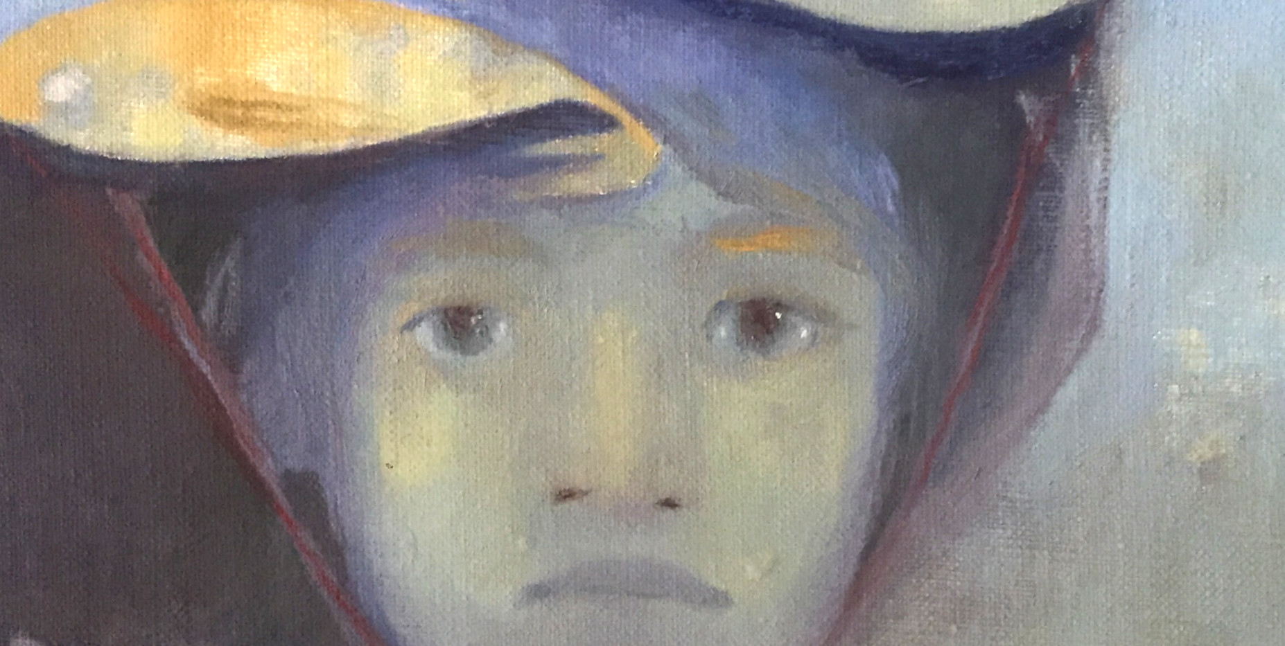 Girl in Fish Hat