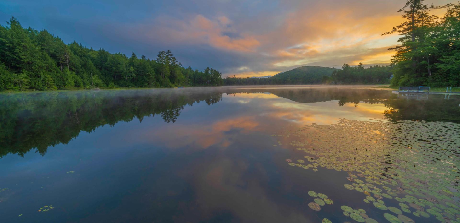 Vermont's Warm Sunrise