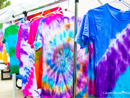 Add Tie-Dye to your Grand Palms Resort Vacation Itinerary