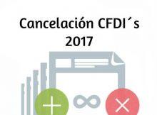 cancelación CFDI 2017