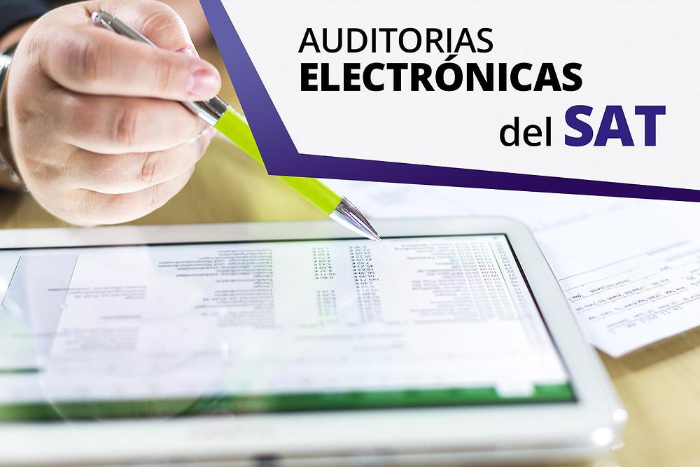 auditoría electrónica, sat