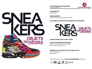 Exposition Sneakers objets de désirs
