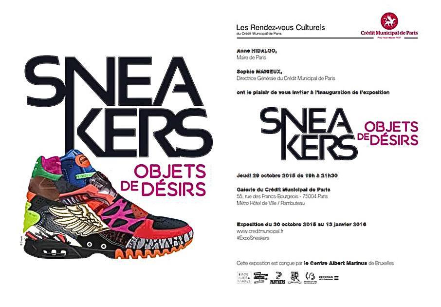 Exposition Sneakers objets de désirs Paris