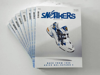 Découvrez mon interview dans Sneakers Magazine #40 From the ground up