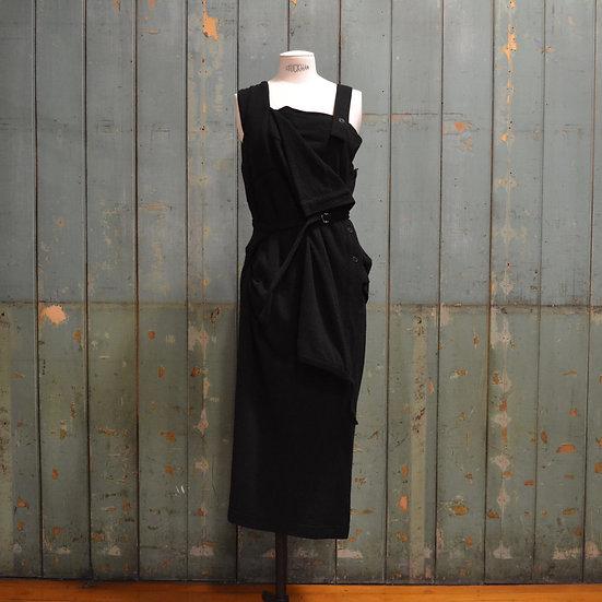 Y's Layered Pinafore Dress