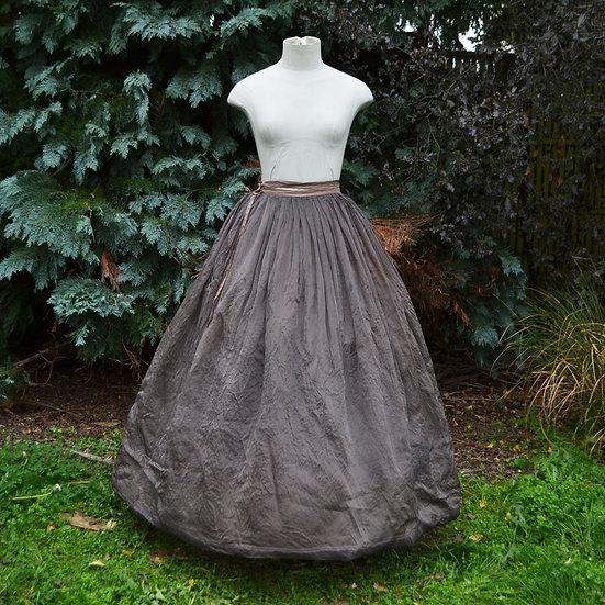6x4 Pleated Silk Organza Skirt