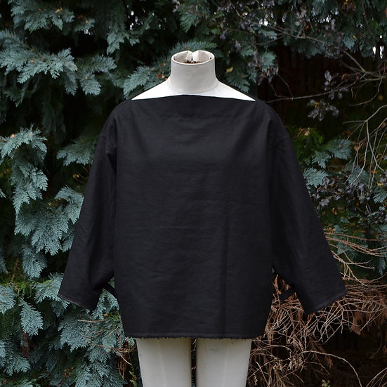 6x4 Boat Neck Top