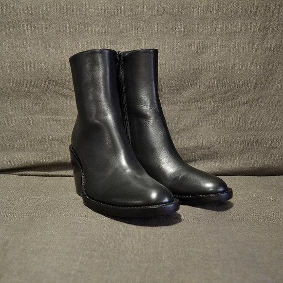 Ann Demeulemeester Vitello Heeled Boot