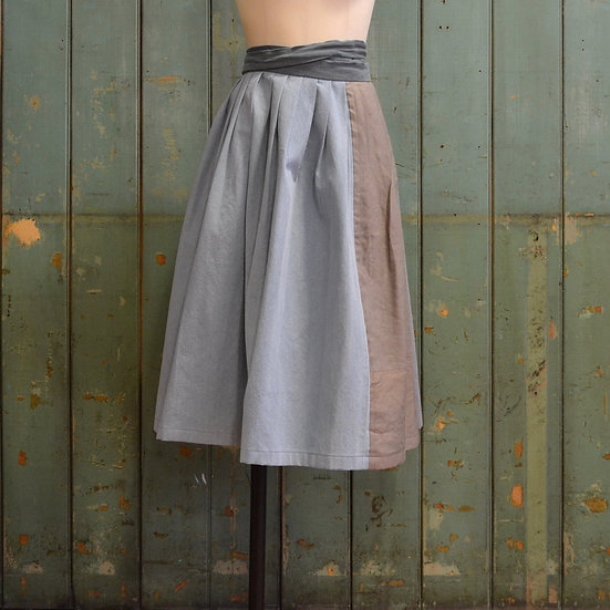 6x4 Pleated Wrap Skirt