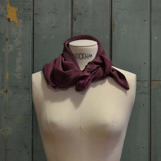 6x4 Natural-dyed Silk Scarf