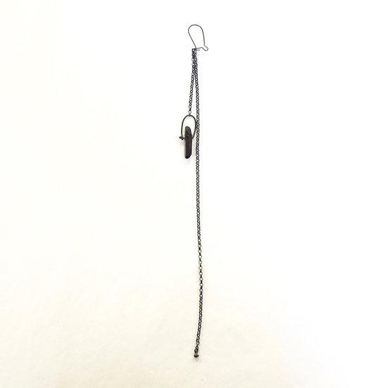 Detaj Quartz Chain Earring