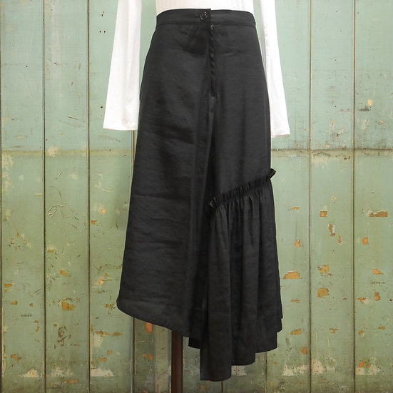 Y's Gather Slit Skirt