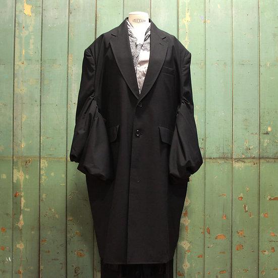 Junya Watanabe Ruched Sleeve Coat
