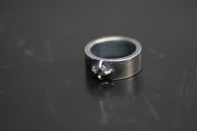 Detaj Silver Ring