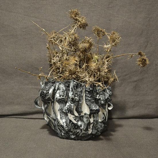 Nichola Shanley Flowing Leaf Pot