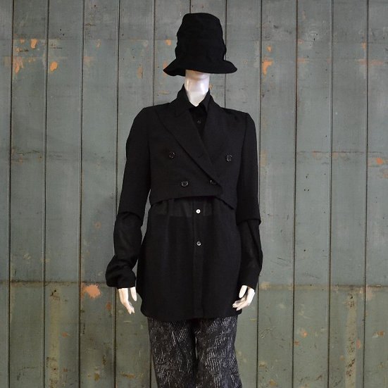 Ann Demeulemeester Gilligan Cropped Jacket