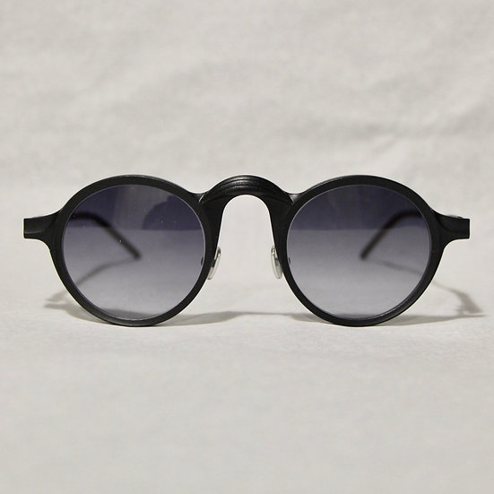 Rigards Black Crescent Bridge Glasses