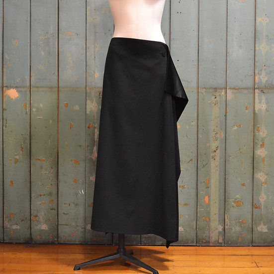 Y's Wrap-like Flare Skirt