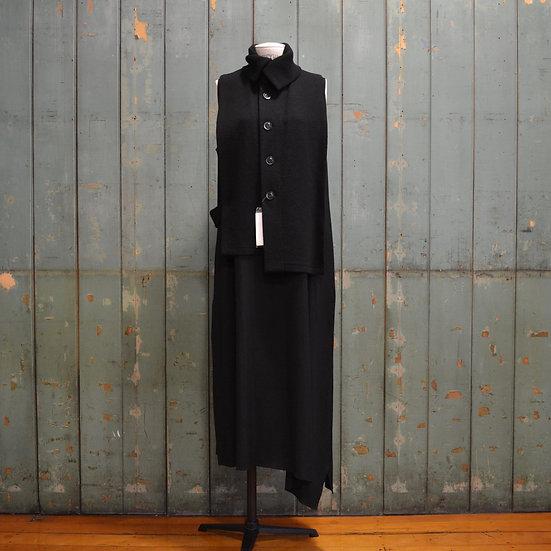 Y's Front Open Vest Dress