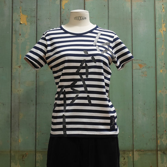 Y's Short Sleeve Stripe Top