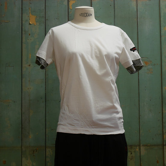Y's Short Sleeve Top with Sleeve Trim