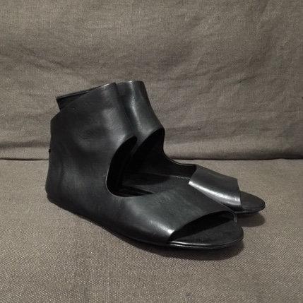 Marsèll open-toe back-zip sandals