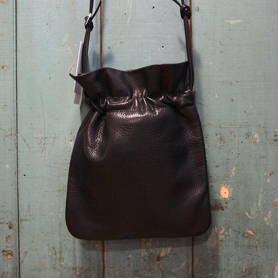 Y's Leather Pouch Shoulder Bag