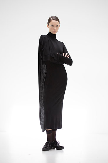 Rory William Docherty Draped Merino Dress