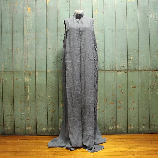 6x4 High Collar Sleeveless Dress