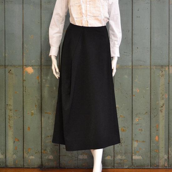 Comme des Garçons long wool skirt
