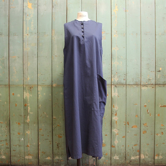 Y's 4 Button Long Dress