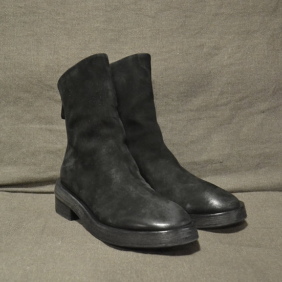 Marsèll Tronchetto Back Zip Nubuck Boots