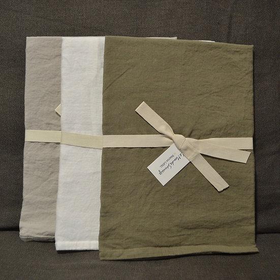 Le Monde Sauvage Linen Euro Pillowcase