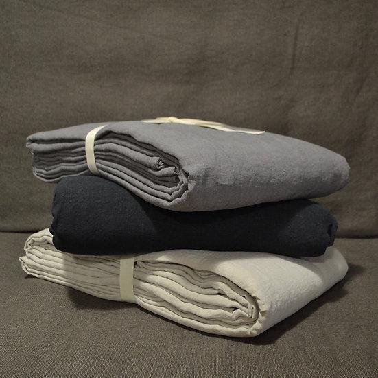 Le Monde Sauvage Linen Flat Sheet
