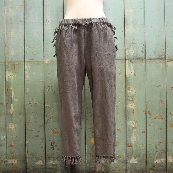 6x4 Jacquard Tassel Trousers
