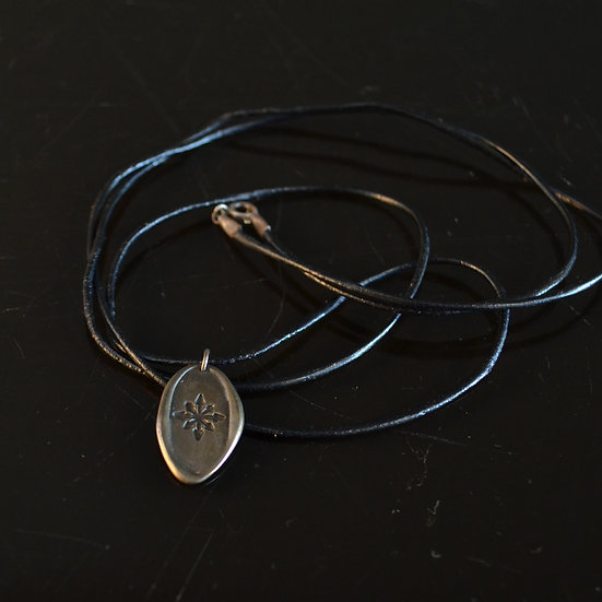 Monday's Child Wax Seal Necklace