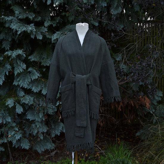 6x4 Drop Shoulder Tassel Fringe Coat