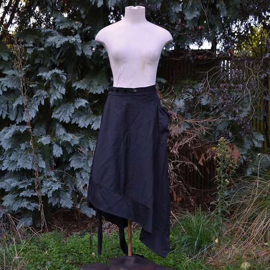 6x4 Asymmetric Wrap Skirt