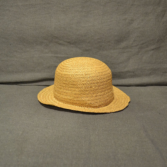 P.R. Patterson Straw Bowler Hat