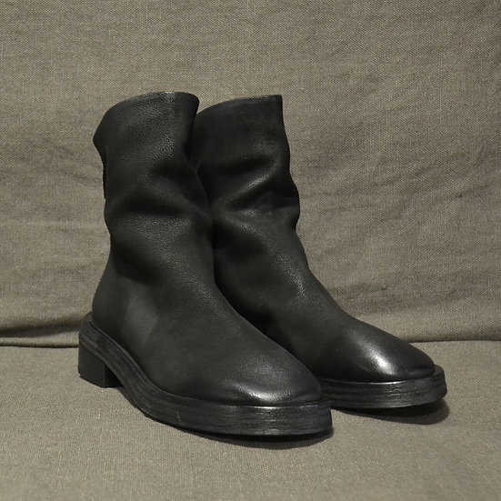 Marsèll Tronchetto Back Zip Leather Boots