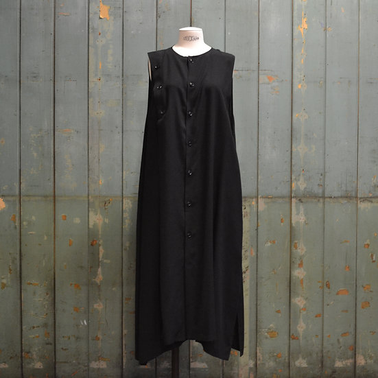Y's Asymmetric Button Dress