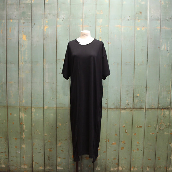 Y's Front Panel Long Dress