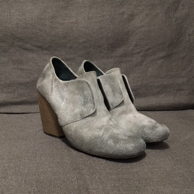 Marsèll block heel suede booties