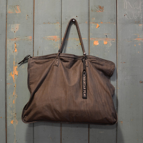 Christian Peau Zip Tote Bag