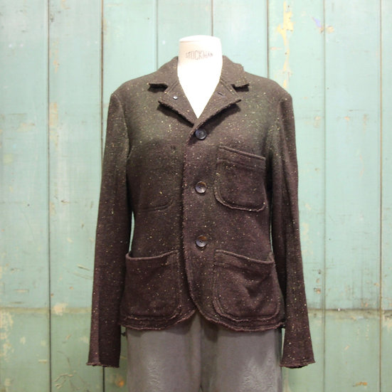6x4 Wool Knit Jacket