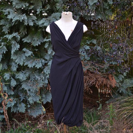 6x4 Draped Dress
