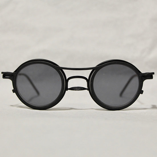 Rigards Black Glasses with Black Clip-ons