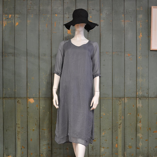 Chez Vidalenc Raglan Sleeve Dress