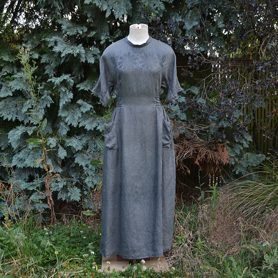 6x4 Vintage Linen Dress